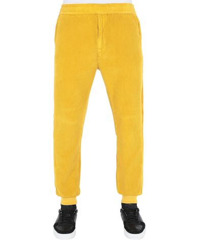 STONE ISLAND Fleece Pants 66339 CORDUROY