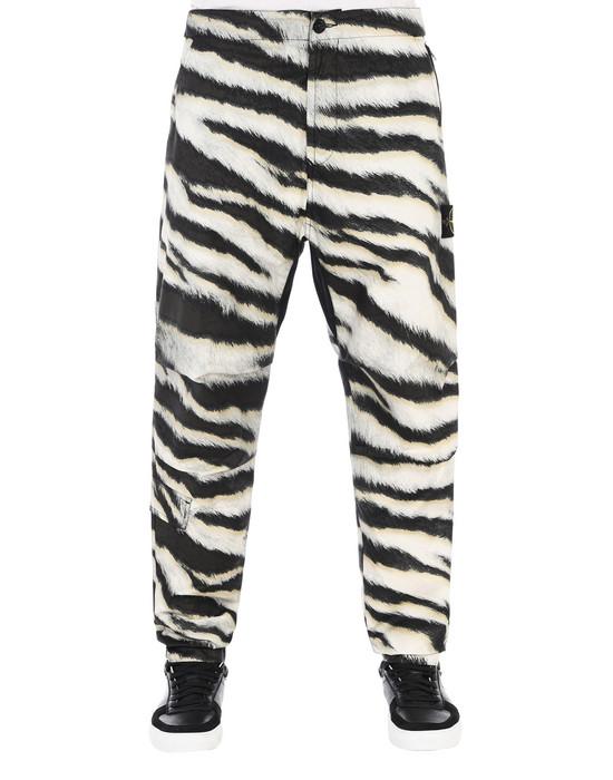 STONE ISLAND Trousers 316E1 WHITE TIGER CAMO 50 FILI