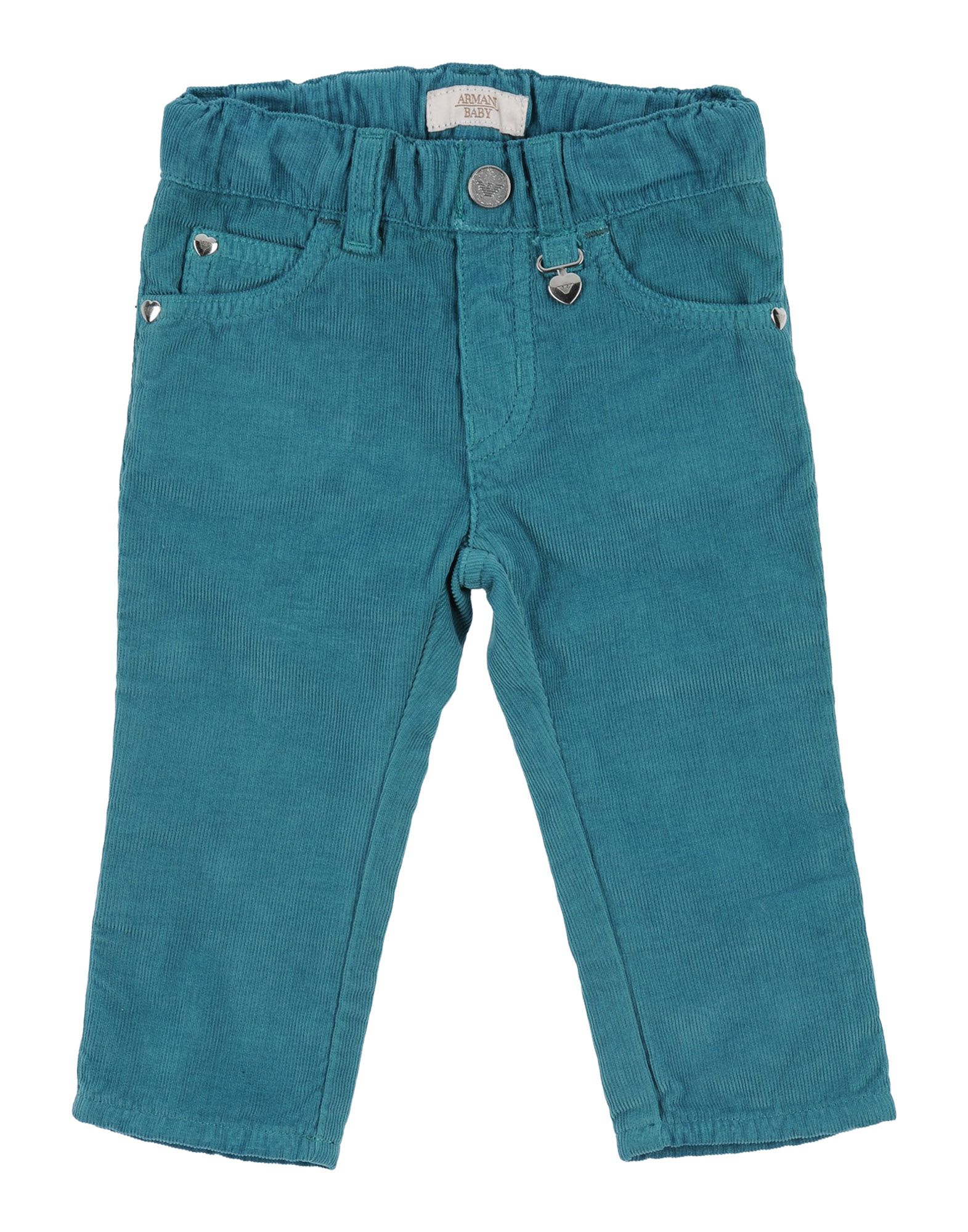ARMANI JUNIOR Casual Pants in Deep Jade