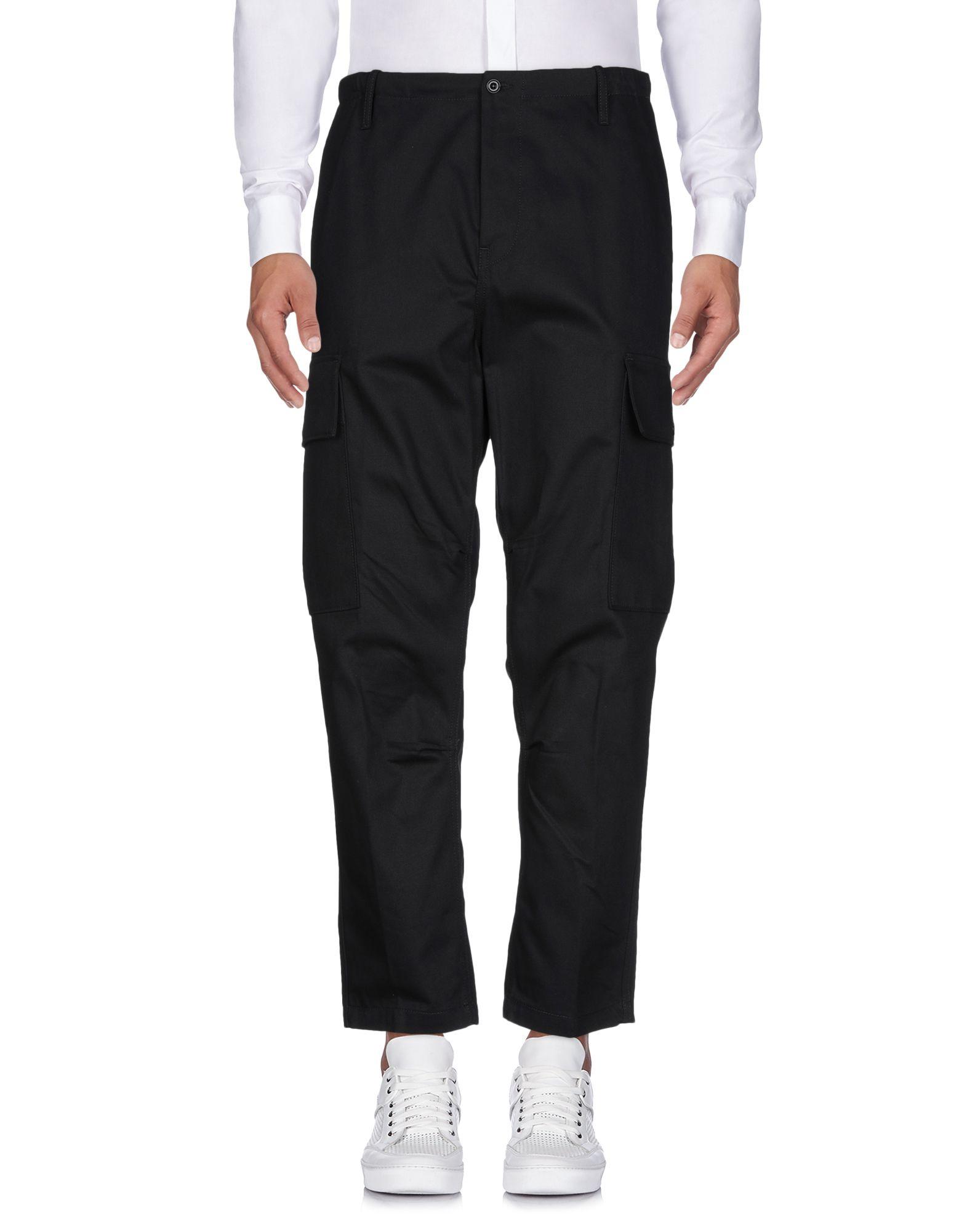 《送料無料》COVERT メンズ パンツ ブラック 52 コットン 100%
