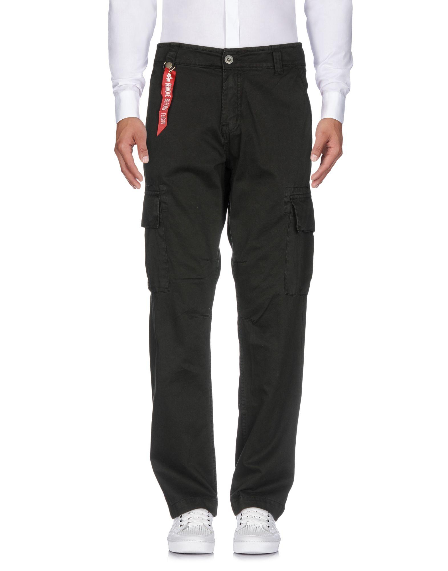 ALPHA INDUSTRIES INC. Повседневные брюки брюки карго фирмы alpha
