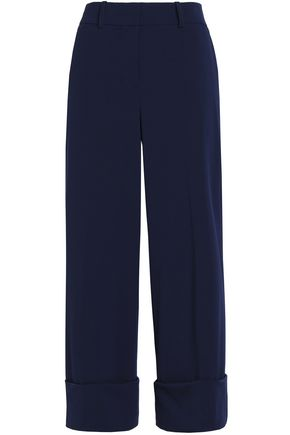 MICHAEL KORS COLLECTION Wool-blend twill culottes
