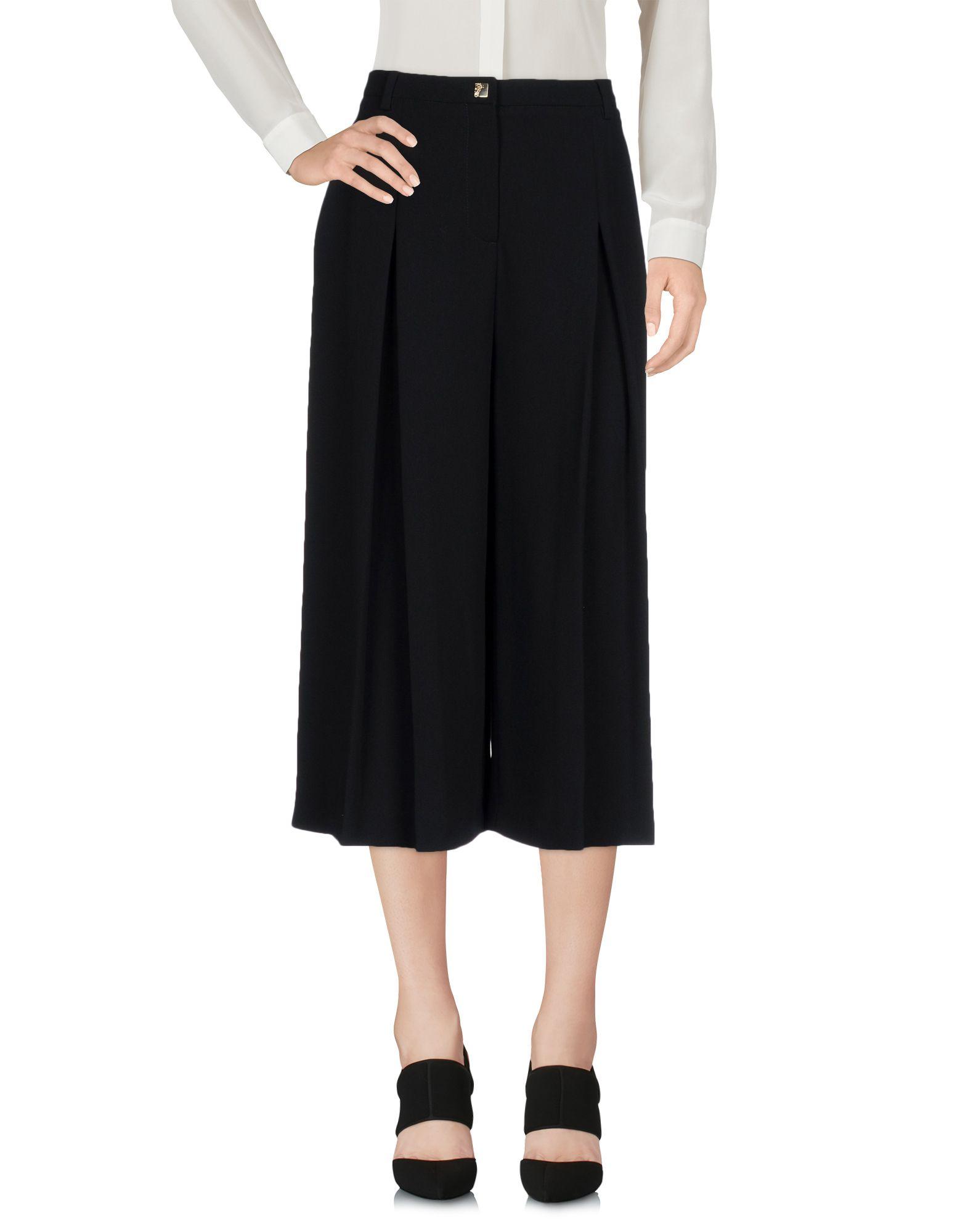 VERSACE COLLECTION Брюки-капри versace collection брюки капри