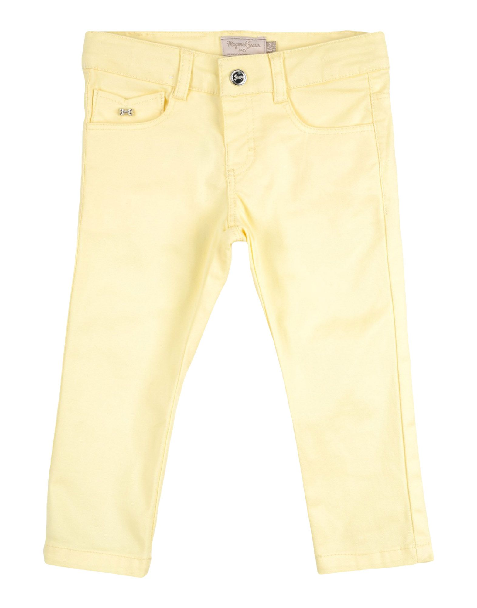 MAYORAL Casual Pants in Light Yellow