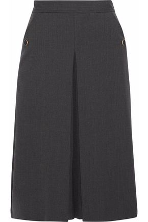 VANESSA SEWARD Billy pleated wool-blend skirt
