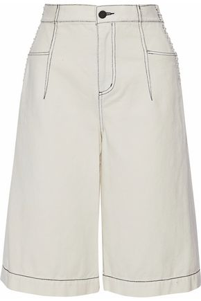 3.1 PHILLIP LIM Lace-up denim culottes