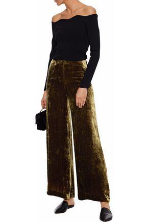 7d2bde6bad631 STAUD Margaux velvet wide-leg pants