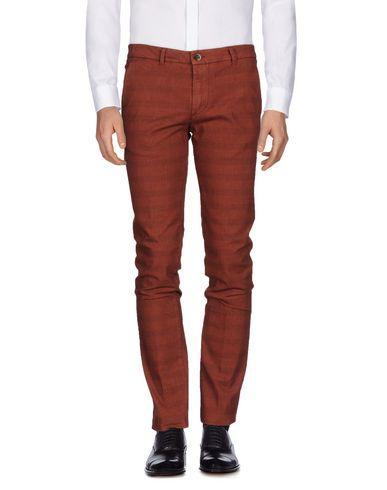 Фото - Повседневные брюки от ONE SEVEN TWO кирпично-красного цвета