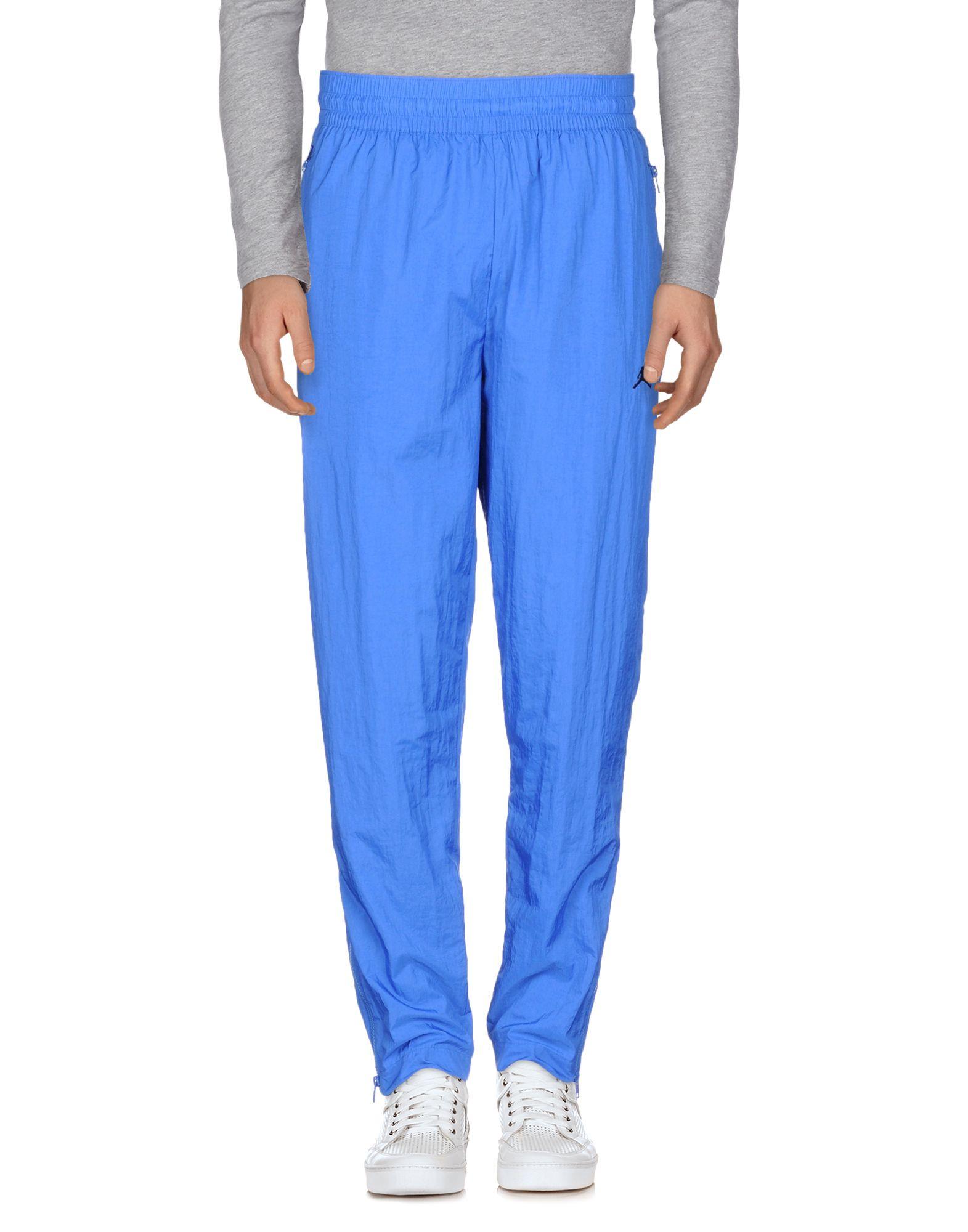 《送料無料》JORDAN メンズ パンツ ブルー M ナイロン 100%