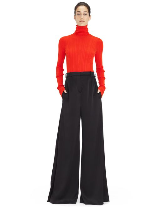 HIGH-WAISTED FLOATY PANTS  - Lanvin