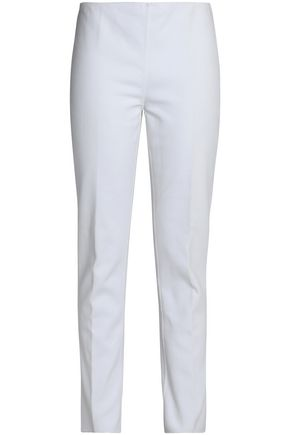 MICHAEL KORS COLLECTION Stretch-cotton slim-leg pants