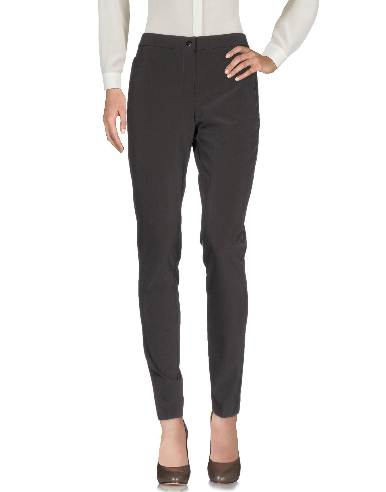 SEDUCTIVE Casual Pants in Dark Brown