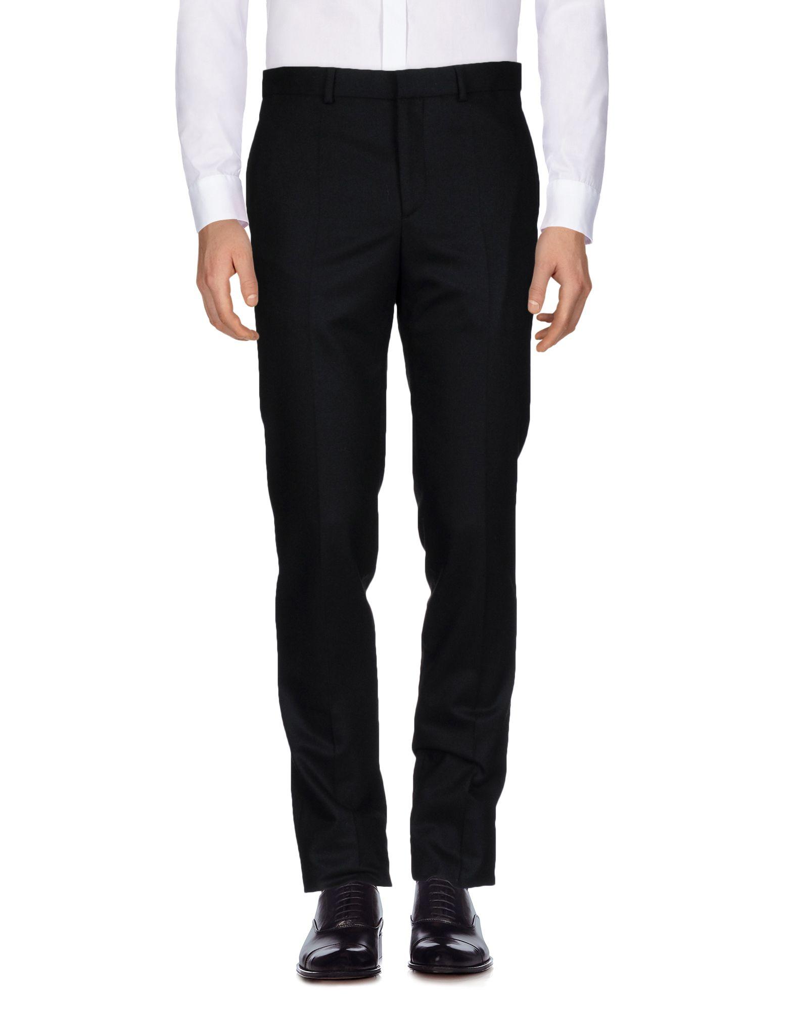 《送料無料》GIVENCHY メンズ パンツ ブラック 46 100% ウール