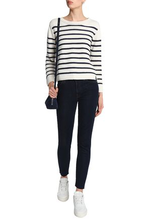 7 FOR ALL MANKIND Low-rise skinny jeans