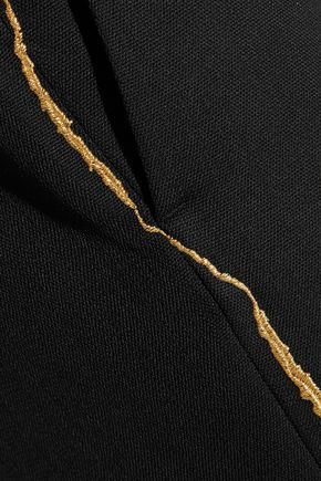 HAIDER ACKERMANN Embroidered wool straight-leg pants