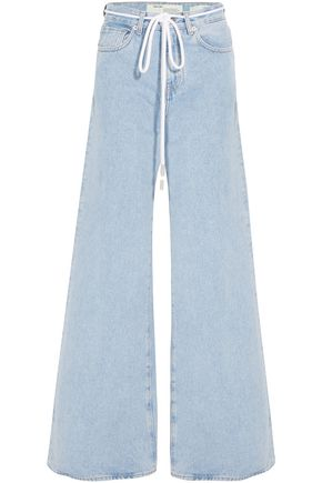 OFF-WHITE™ High-rise wide-leg jeans