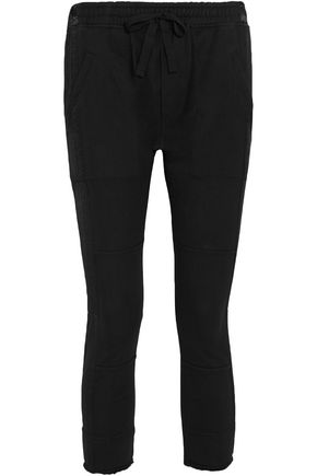 HAIDER ACKERMANN Twill-paneled cotton track pants