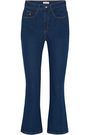 ATTICO Blanca high-rise kick-flare jeans