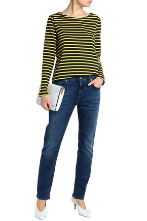 7 FOR ALL MANKIND Mid-rise boyfriend jeans
