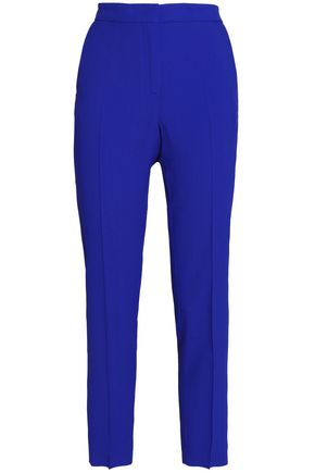 MSGM Cropped crepe tapered pants