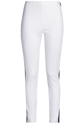 MSGM Stretch-jersey leggings