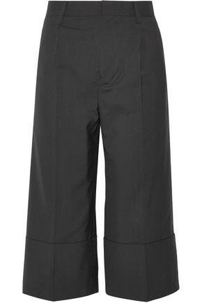 NOIR KEI NINOMIYA Cropped wool wide-leg pants