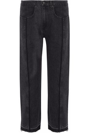 RAG & BONE Magnolia cropped high-rise straight-leg jeans