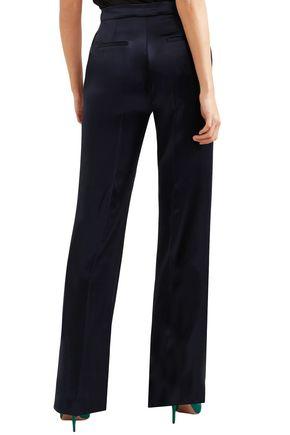 GABRIELA HEARST Vesta silk-satin bootcut pants