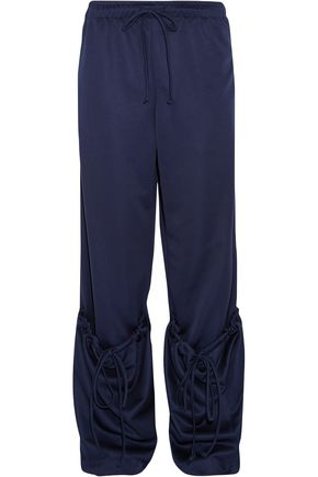 J.W.ANDERSON Gathered washed-jersey track pants