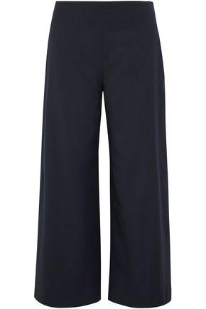 ADAM LIPPES Cropped wool wide-leg pants