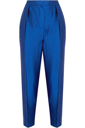 ROKSANDA Surikov wool-blend shantung tapered pants