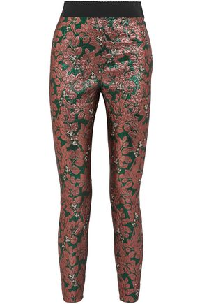 DOLCE & GABBANA Brocade leggings