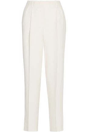 THE ROW Firth silk-crepe wide-leg pants