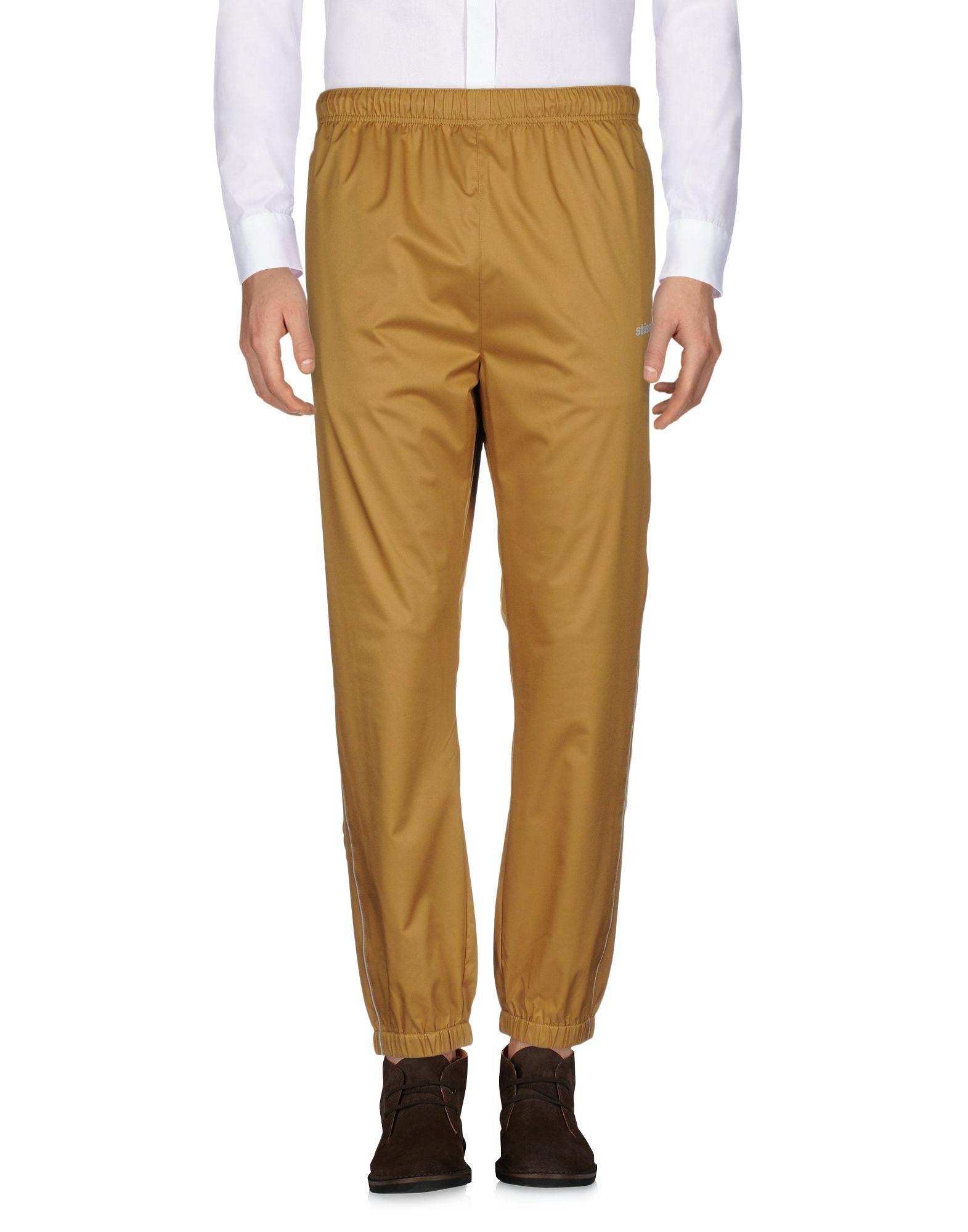 《送料無料》STUSSY メンズ パンツ キャメル M ポリエステル 100%