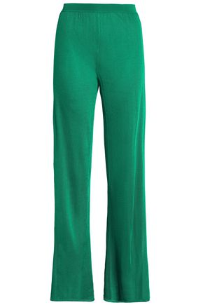 MISSONI Stretch-knit wide-leg pants