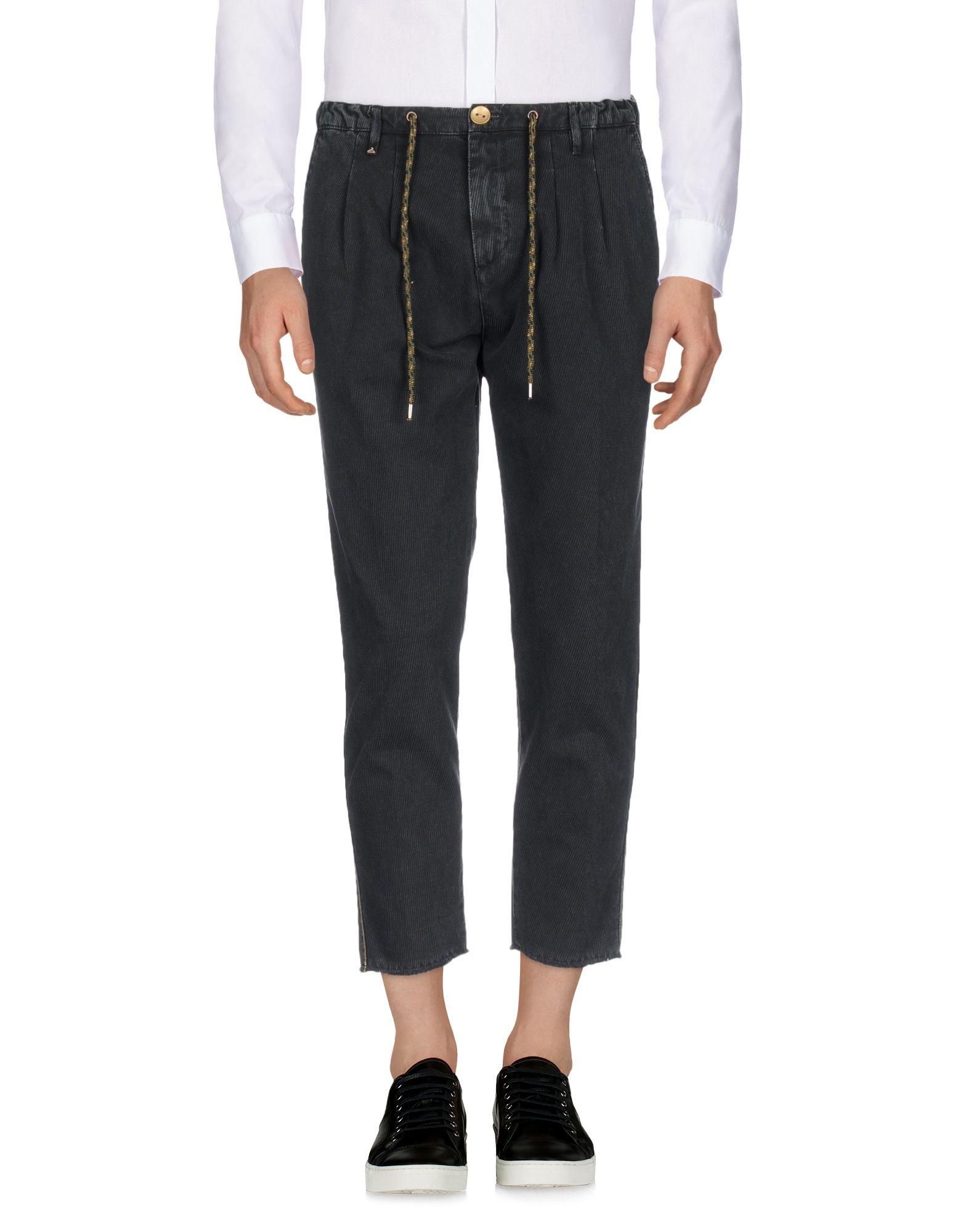 《期間限定セール中》BERNA メンズ パンツ ブラック 46 コットン 100%