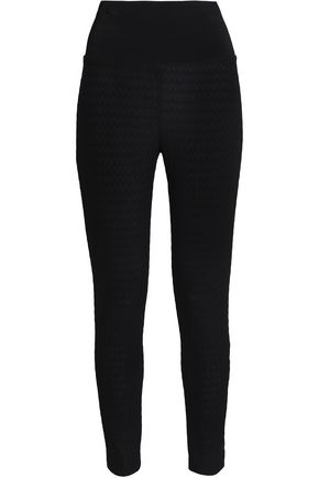 MISSONI Crochet-knit leggings