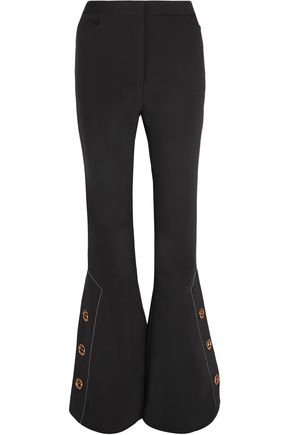 ELLERY Embellished woven flared pants