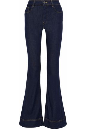 ALICE + OLIVIA Kayleigh high-rise flared jeans