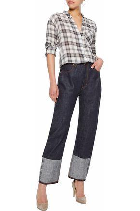 RAG & BONE High-rise straight-leg jeans
