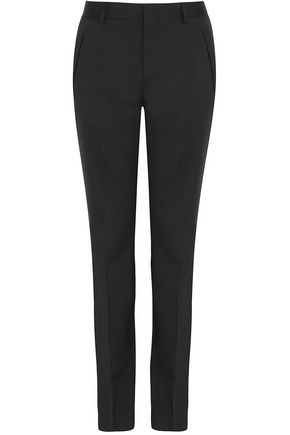 GIVENCHY Wool-twill slim-leg pants