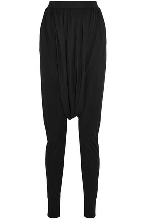BALMAIN Sarouel jersey tapered pants