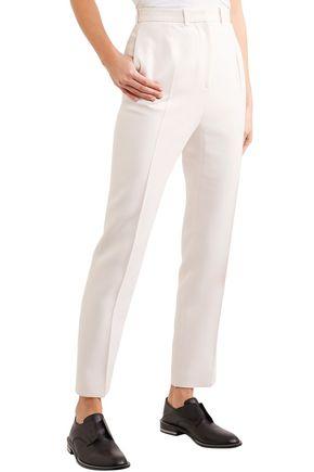 ALEXANDER MCQUEEN Wool-blend slim-leg pants