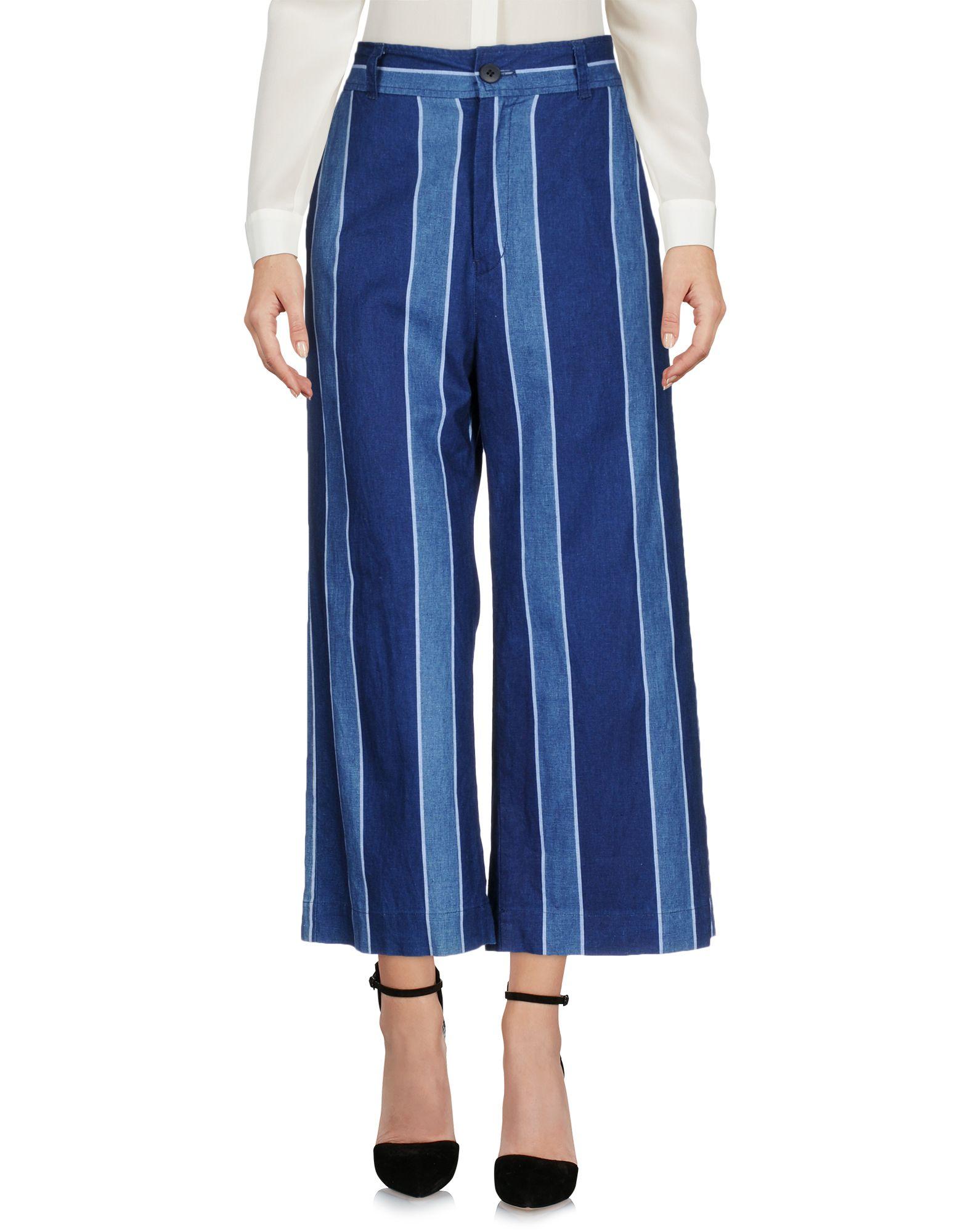BLUE BLUE JAPAN Повседневные брюки blue blue japan pубашка