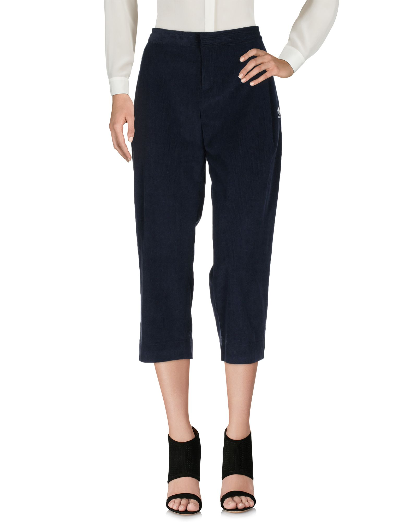a36877fb2f6c Adidas Originals Cropped Pants   Culottes In Dark Blue