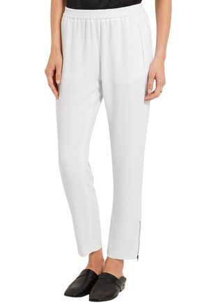 STELLA McCARTNEY Tamara cropped crepe tapered pants