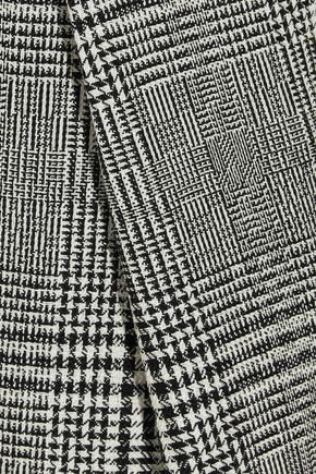 ELLERY Kool Aid Prince of Wales checked wool straight-leg pants