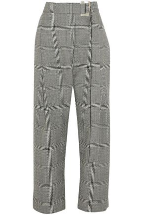 ELLERY Kool Aid Prince of Wales checked wool straight-leg pants