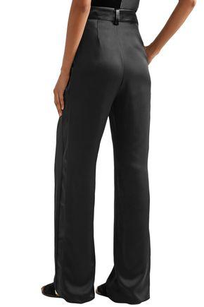 LANVIN Satin straight-leg pants