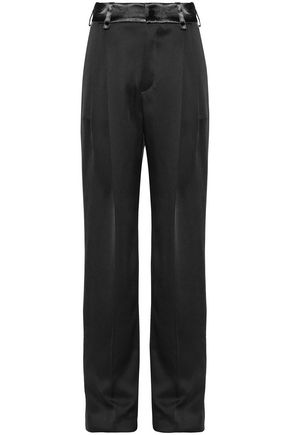 LANVIN Satin straight-leg pants